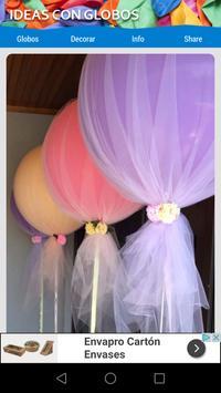 Ideas con globos screenshot 1