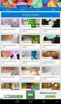 Ideas con globos screenshot 5