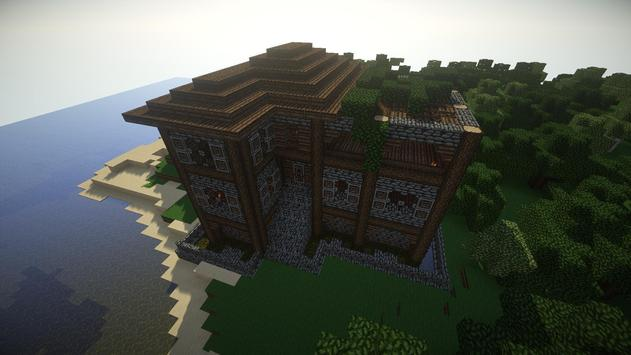 Cool House Minecraft Building screenshot 1