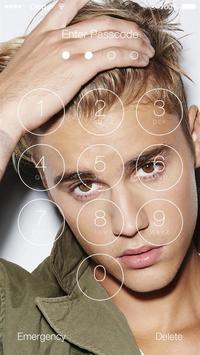 Justin Bieber Lock Screen Walpaper screenshot 4
