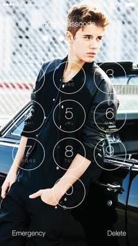 Justin Bieber Lock Screen Walpaper screenshot 5