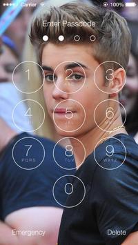 Justin Bieber Lock Screen Walpaper screenshot 7