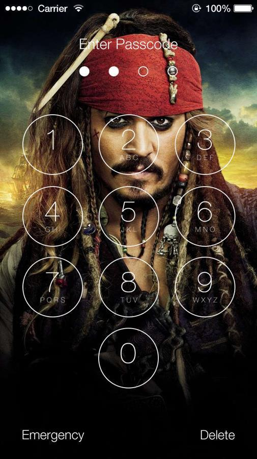 Pirates Of The Caribbean Wallpapers Lock Screen For Android