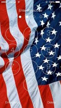 Us Flags Lock Screen Walpaper screenshot 3