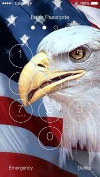 Us Flags Lock Screen Walpaper screenshot 2