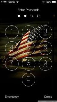 Us Flags Lock Screen Walpaper screenshot 4