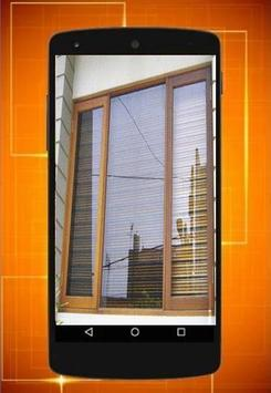 Window design idea poster