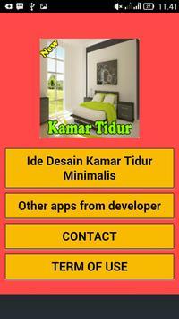Kamar Tidur Minimalis poster