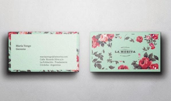 Minimalist Name Card Design screenshot 12