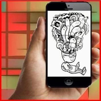 Doodle Art Design Ideas screenshot 1