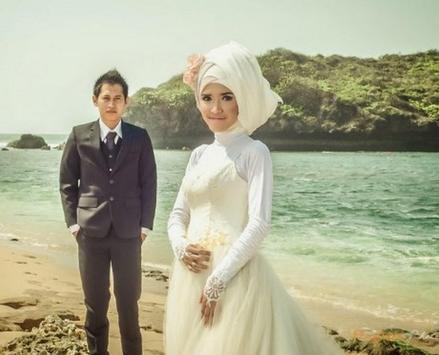 the idea of pre wedding photo islamic screenshot 17