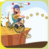 Fly Bike Jeffy Adventure icon