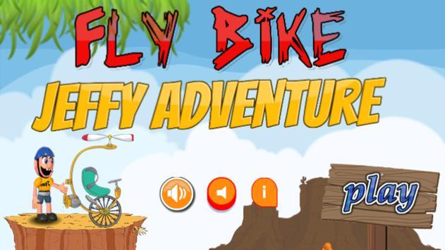 Fly Bike Jeffy Adventure poster