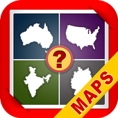 Guess Country Maps Quiz icon
