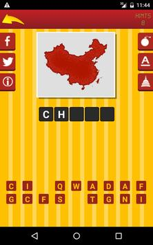 Guess Country Maps Quiz apk screenshot