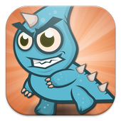 Monster in the Temple Run game icon