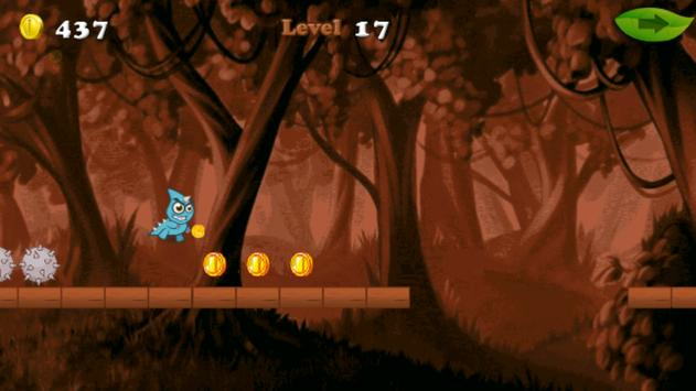 Monster in the Temple Run game screenshot 1