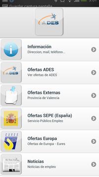 Empleo Silla (Valencia)_ADES apk screenshot