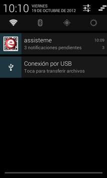 Assisteme - Cliente de avisos. apk screenshot