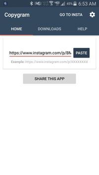 CopyGram apk screenshot