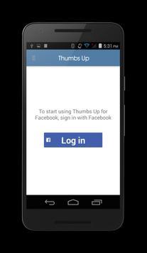 Thumbs Up for Facebook apk screenshot