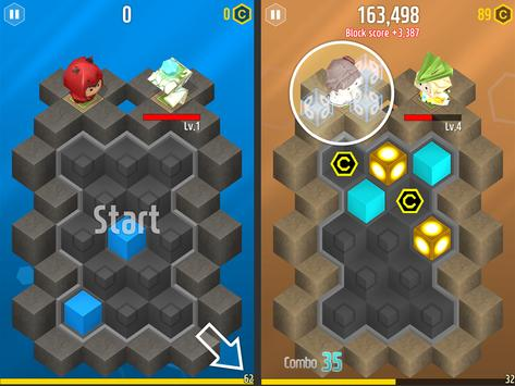 Touch by Touch:Tap Clash Block screenshot 1