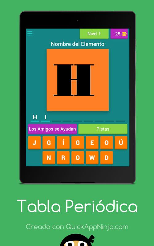 The Periodic Table Apk Download Free Trivia Game For Android