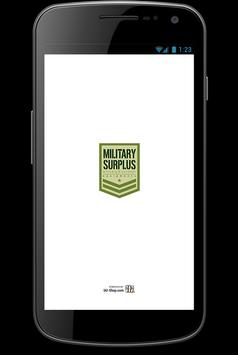 Military Surplus SHOP screenshot 1