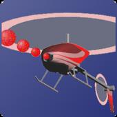Indoor Heli Fight 3D Free icon