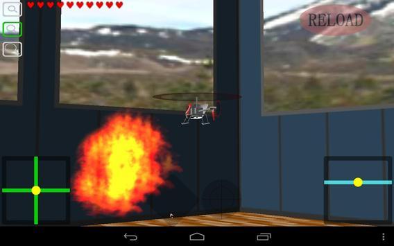 Indoor Heli Fight 3D Free apk screenshot