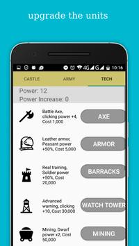 Clicker Kingdom screenshot 2