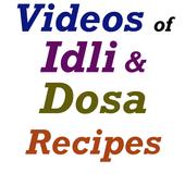 Idli and Dosa Recipes Videos icon