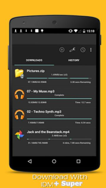 IDM+ Super Download Manager for Android - APK Download
