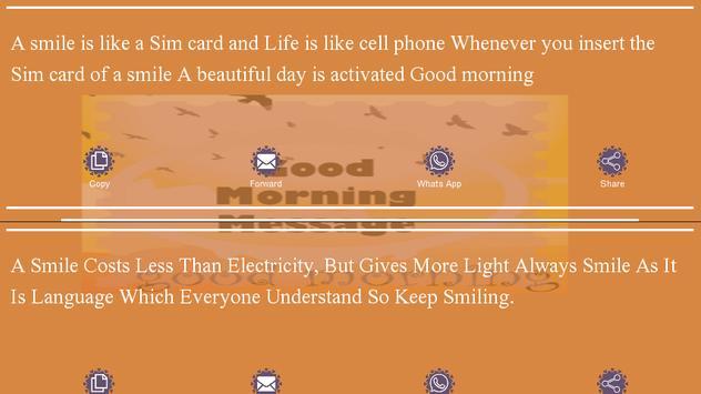 Good Morning Messages apk screenshot