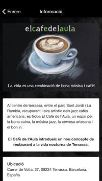 El Cafè de l'Aula screenshot 1