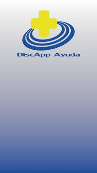 DiscApp Ayuda poster