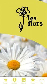 Floristeria Les Flors poster