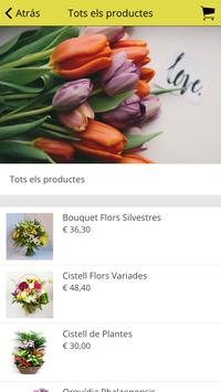 Floristeria Les Flors screenshot 2