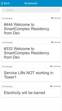 SmartComplex User App for Residents by IDNTIFY screenshot 4