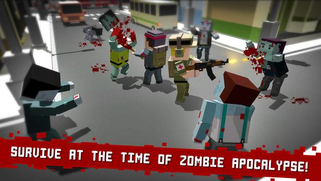 Cube Z (Pixel Zombies) poster