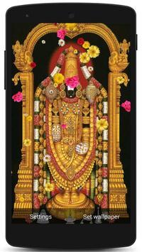 Tirupati Balaji Live Wallpaper screenshot 7