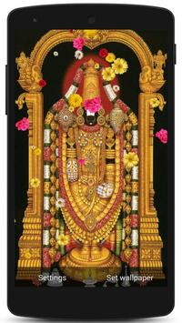 Tirupati Balaji Live Wallpaper screenshot 11