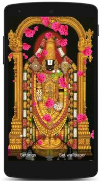 Tirupati Balaji Live Wallpaper screenshot 1