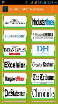 Indian English Newspapers poster