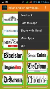 Indian English Newspapers screenshot 2