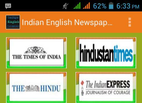 Indian English Newspapers screenshot 3