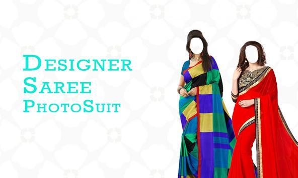 Designer Saree Photo Suit poster