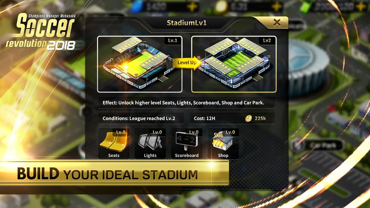 Soccer Revolution 2018: 3D Real Player MOBASAKA for Android