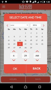 iDrive service booking app screenshot 4