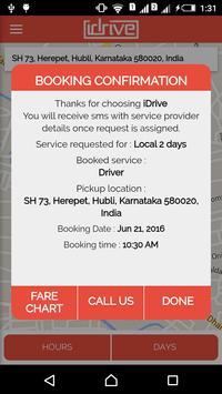 iDrive service booking app screenshot 6
